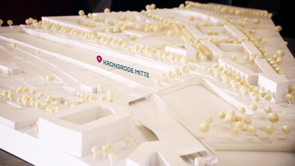 Erster Architektenwettbewerb Kronsrode-Mitte entschieden